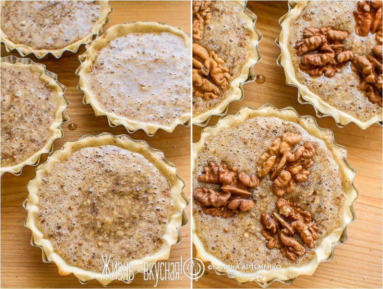 ореховый пирог рецепт с фото