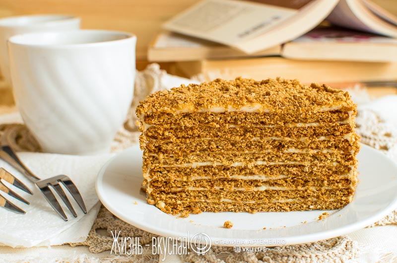 пп торт медовик