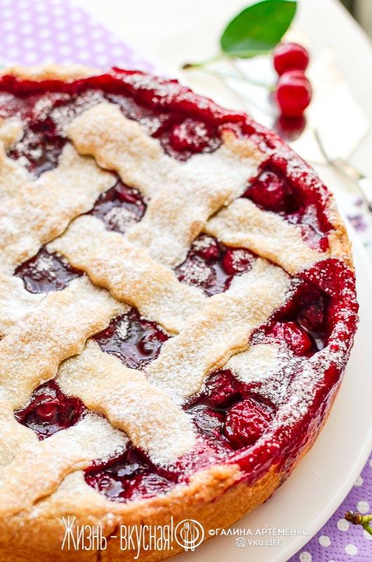 пирог вишневый замороженные