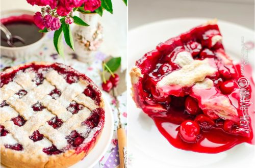 вишневый пирог рецепт