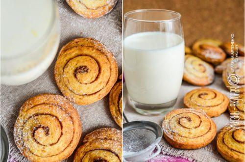 вкусное творожное печенье