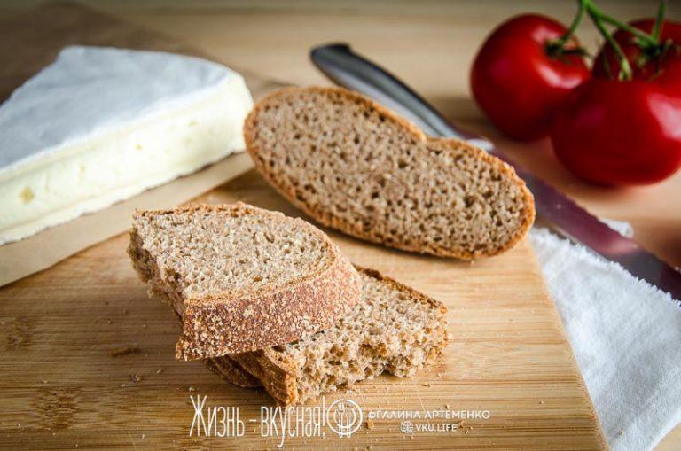 цельнозерновой хлеб без замеса