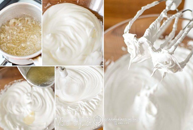 крем белковый для кексов