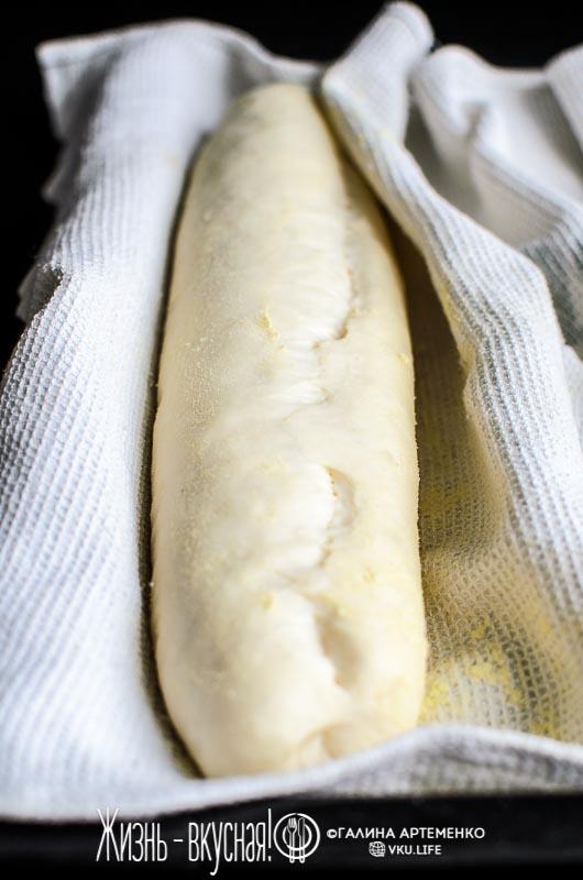 молочный хлеб в духовке на сухих дрожжах