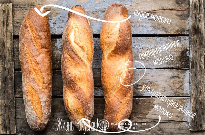 домашний молочный хлеб