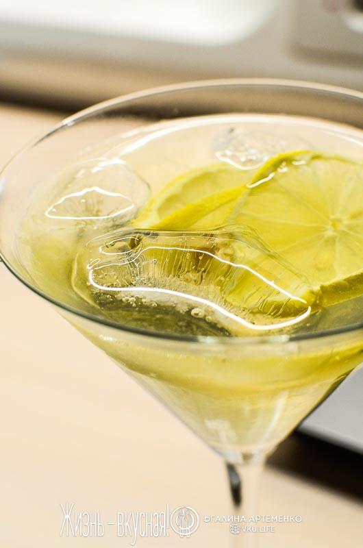 мороженое семифредо с мартини лимоном лаймом