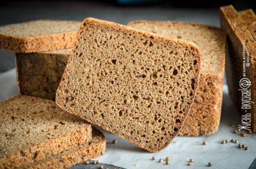 хлеб на остатках закваски