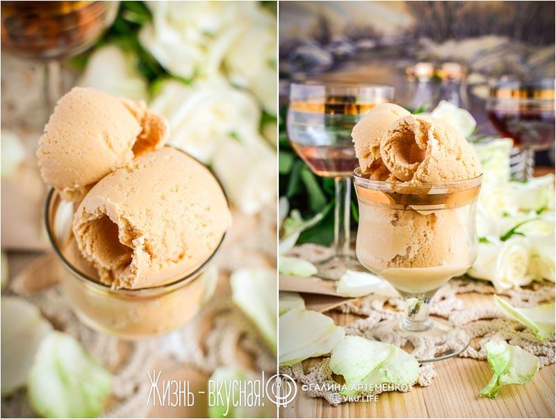 домашнее мороженое крем брюле