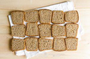 хлеб ржано пшеничный на ржаной закваске