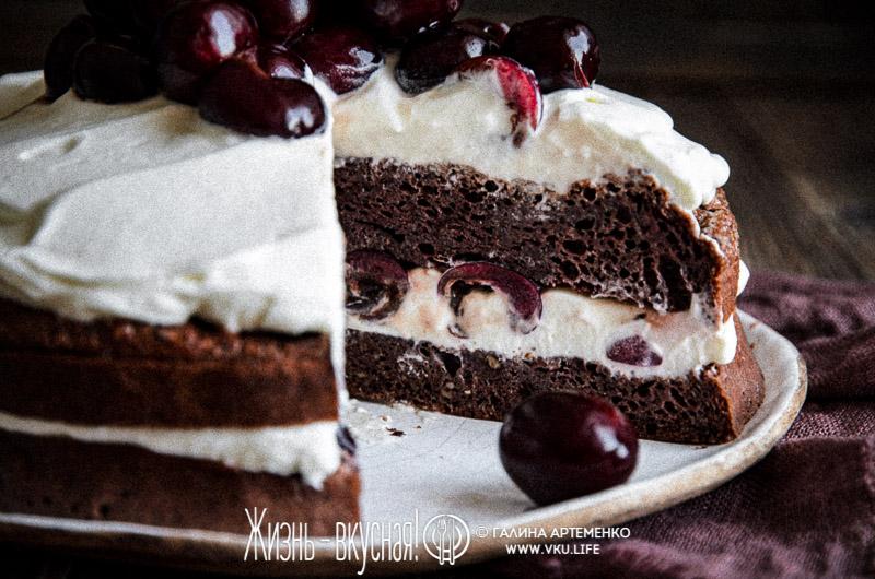 торт без муки и сахара рецепт