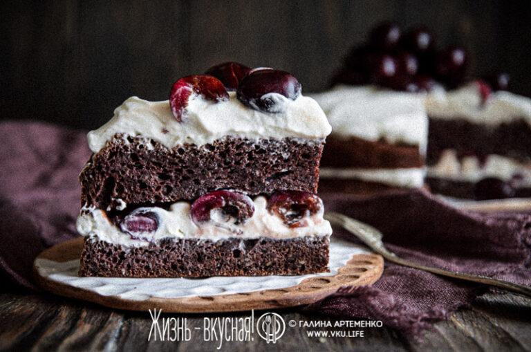 торт пп без муки и сахара