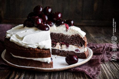 торт без муки и сахара
