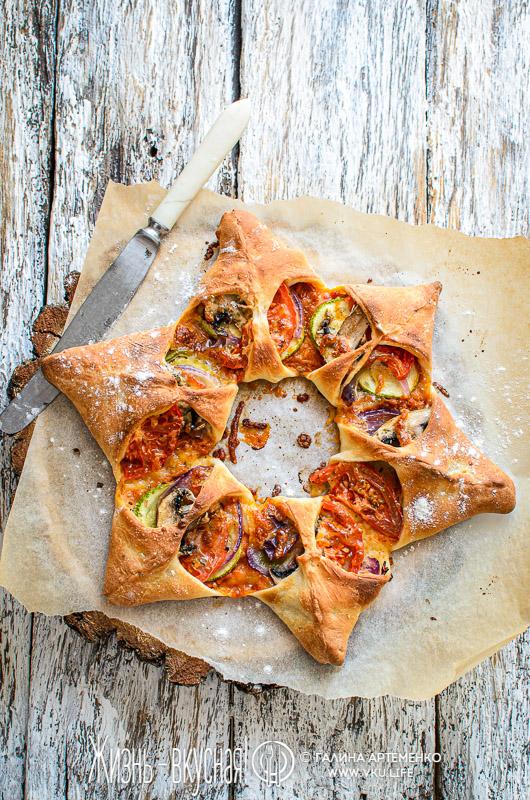 пицца домашняя овощная