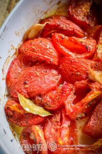 печеные помидоры в духовке