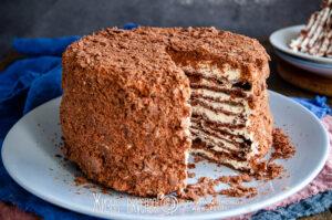 торт с творожным кремом рецепт с фото