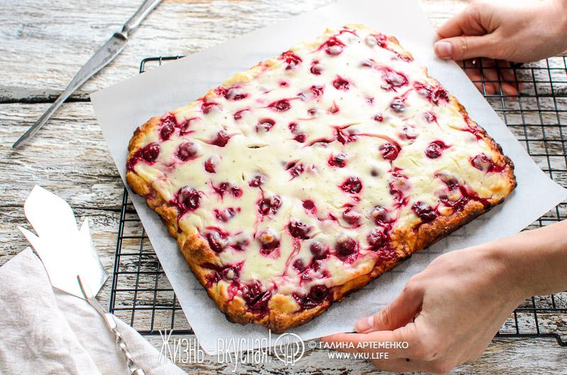 пирог вишневый пай