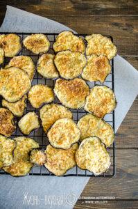 чипсы из баклажанов в духовке