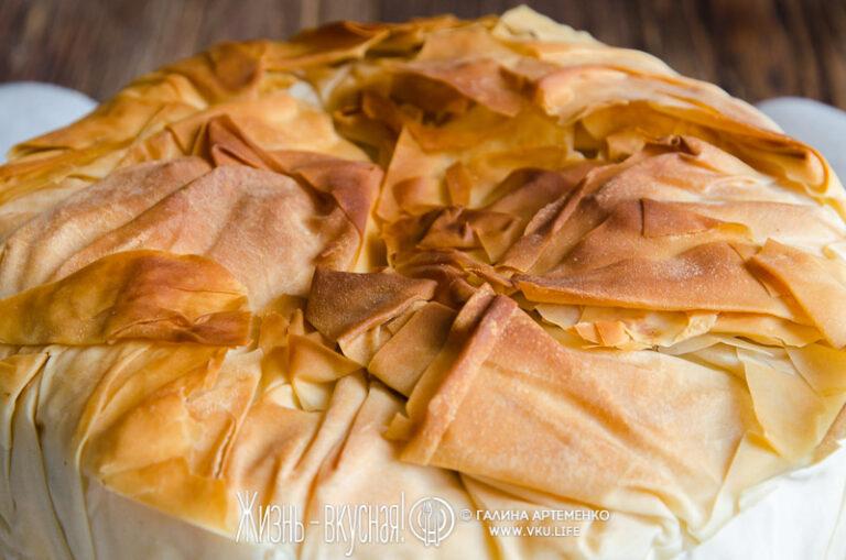 вкусный яблочный пирог