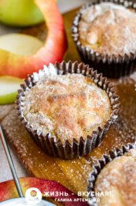 яблочные маффины рецепт