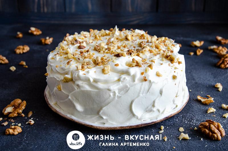 морковный пирог вкусный простой рецепт