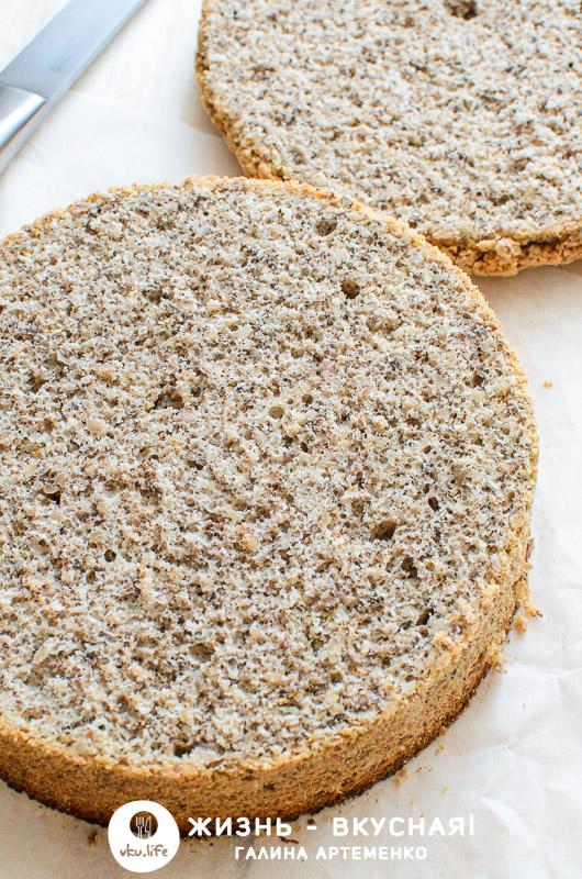 ореховый бисквит рецепт