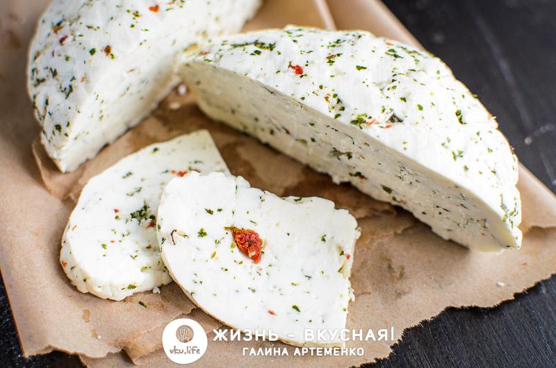 как сделать адыгейский сыр