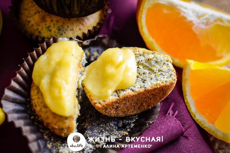 апельсиновые кексы рецепт