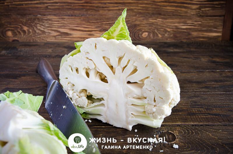 цветная капуста быстро и вкусно на сковороде