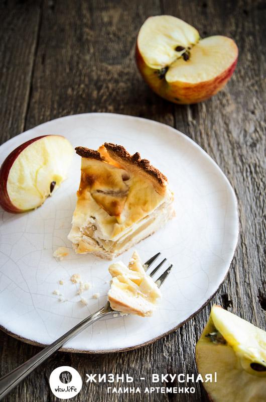 диетический яблочный пирог рецепт