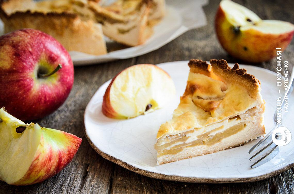 диетический яблочный пирог