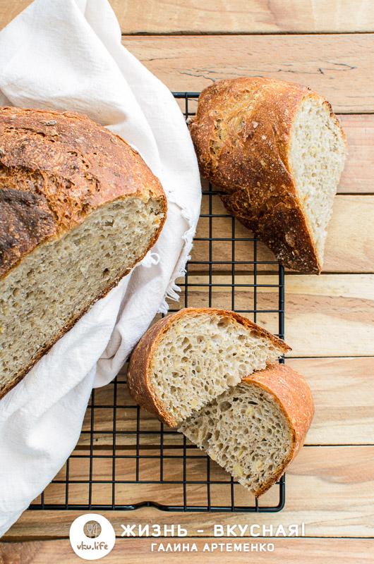 хлеб из пророщенной гречки