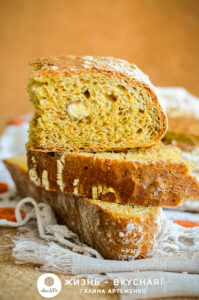хлеб с морковью