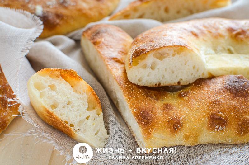 сделать хлебные лепешки
