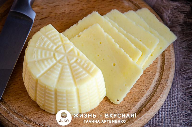 рецепт сыра из творога и молока