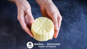 рецепт сыра в домашних условиях из творога