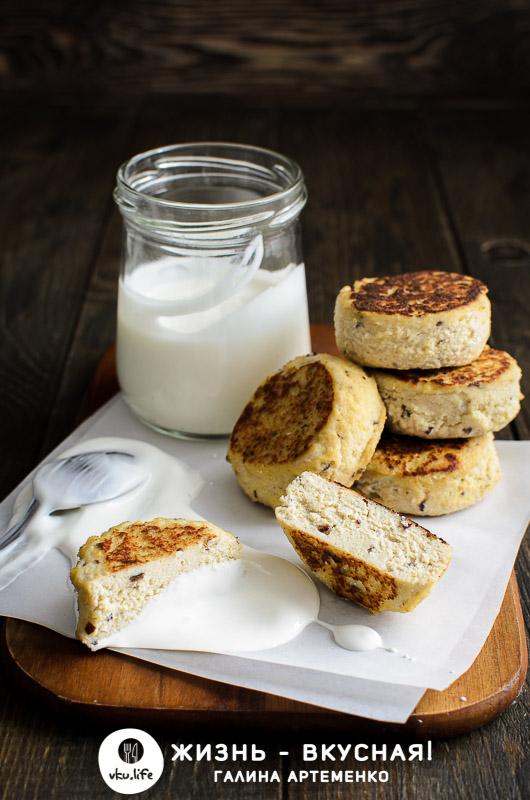 веганские сырники из тофу
