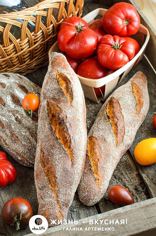 хлеб с томатным соком