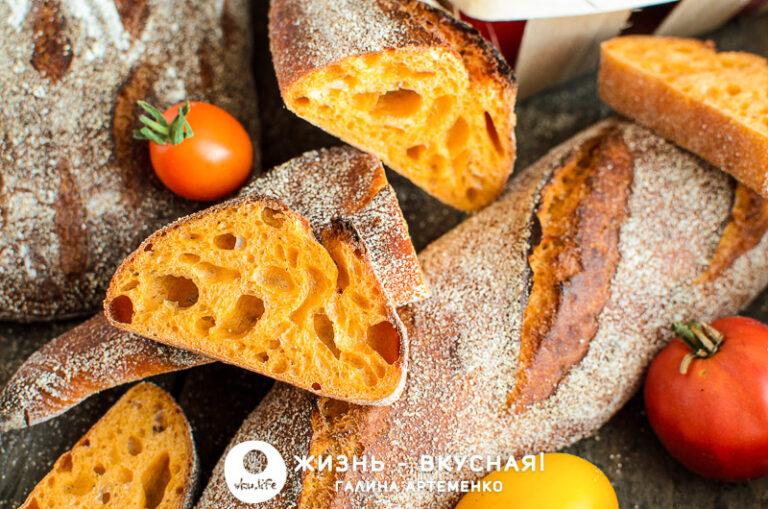 томатный хлеб рецепт
