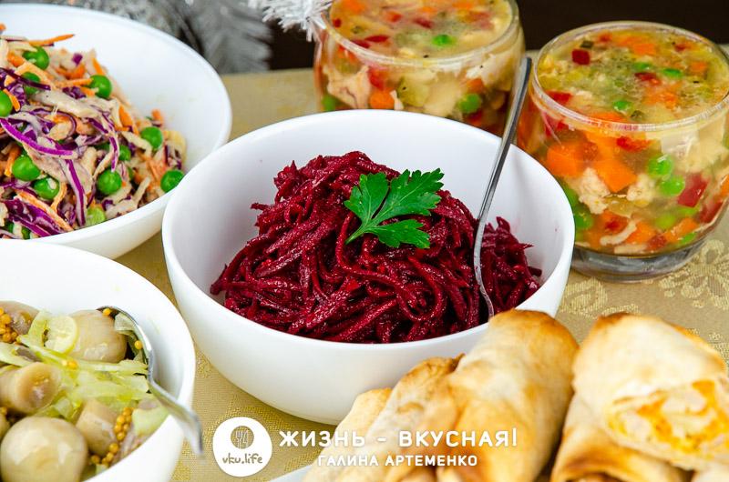 новогоднее меню на 1000 рублей