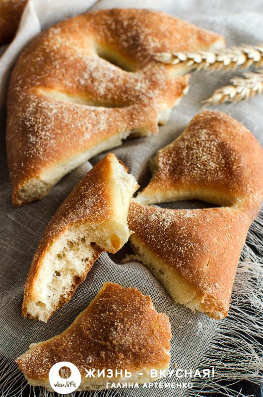 фугас хлеб рецепт