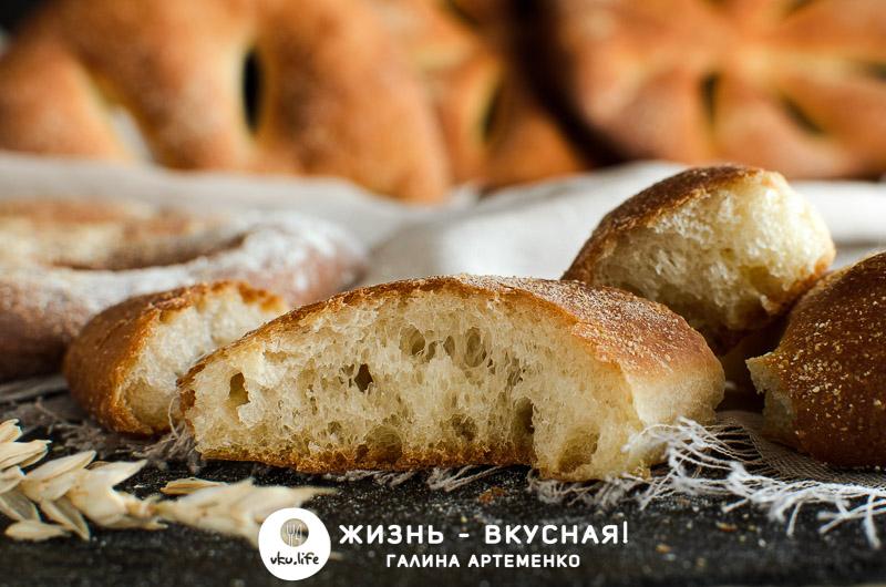 рецепт хлеба фугас французского