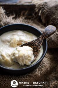густой домашний йогурт