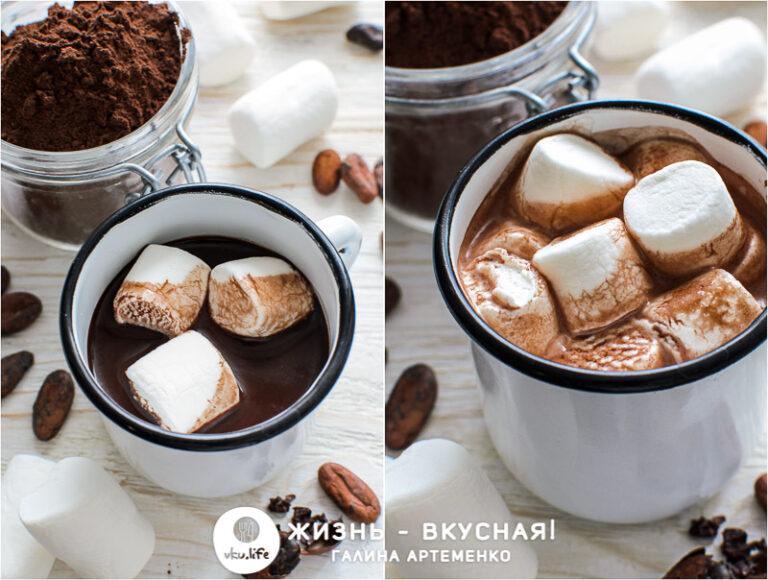 как приготовить какао из какао порошка