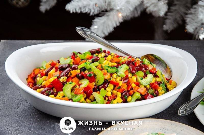 новые салаты на праздничный стол рецепты