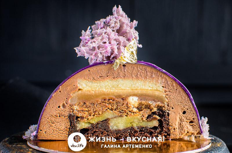 очень вкусный муссовый торт