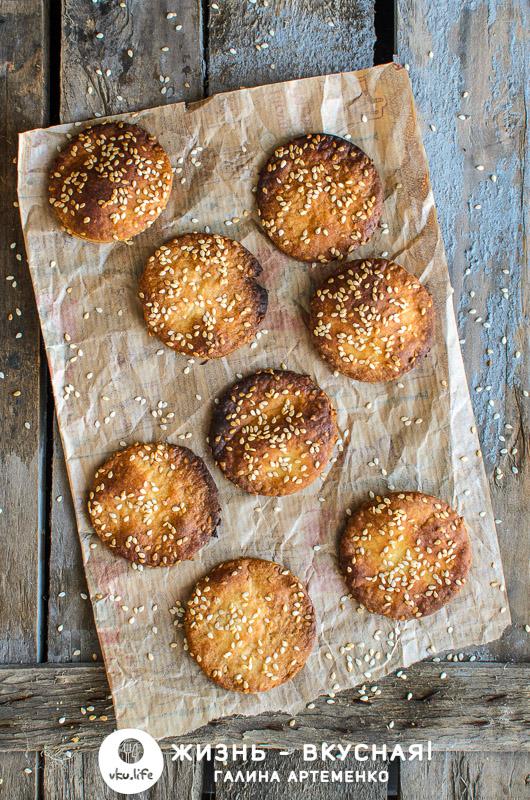 простое постное печенье