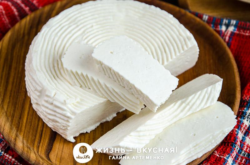 домашний сыр из молока