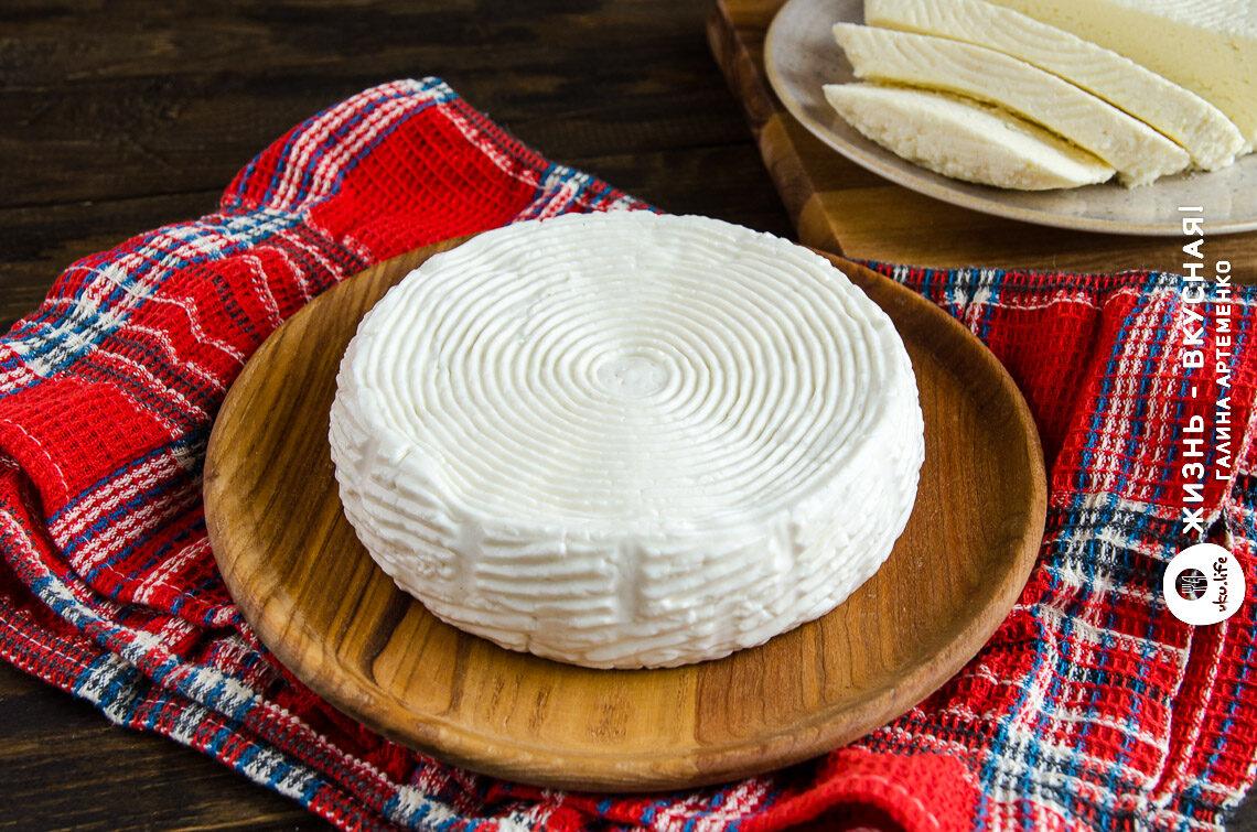 простой домашний сыр из молока