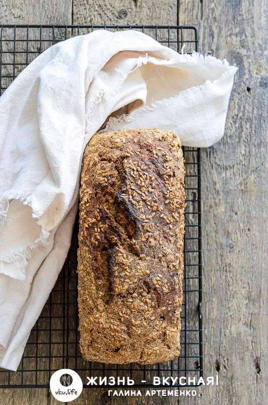 простой рецепт бездрожжевого хлеба