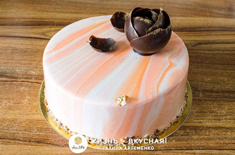 торт с черносливом